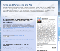 Aging and Parkinsons and Me