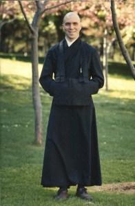 Zen Monk Martin Bayne, 1971