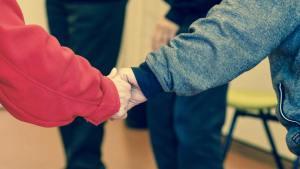 Elders holding hands - changingaging.org