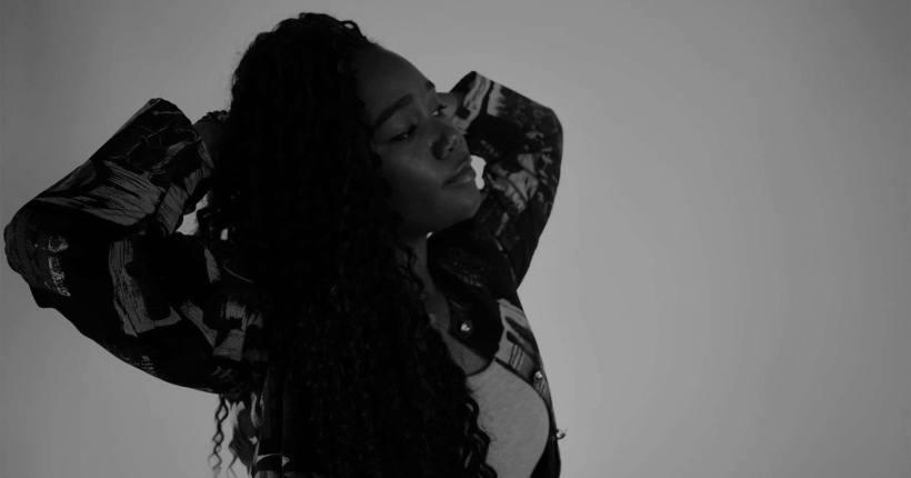 Namarah - Black and White Portrait