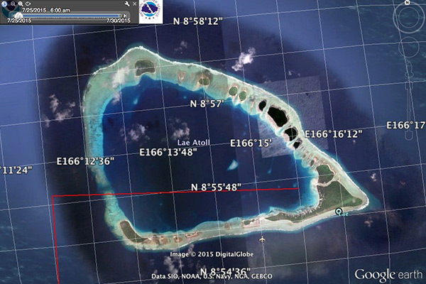There and back again – Journey to Lae Atoll