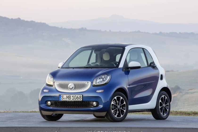 The 2014 Smart ForTwo city car