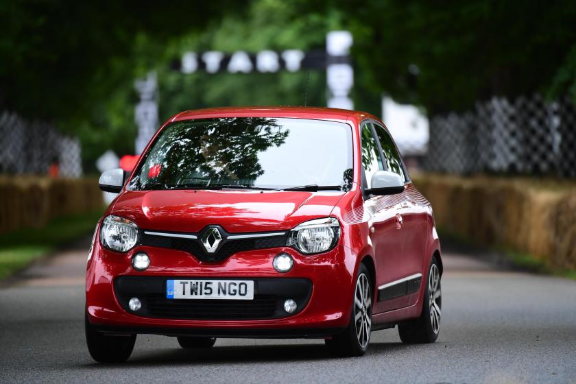 The Twingo is smaller and cheaper than a Renault Clio