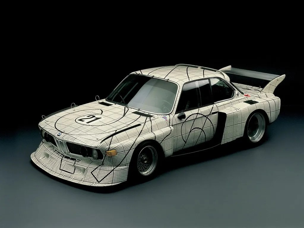 Frank Stella BMW Art Car