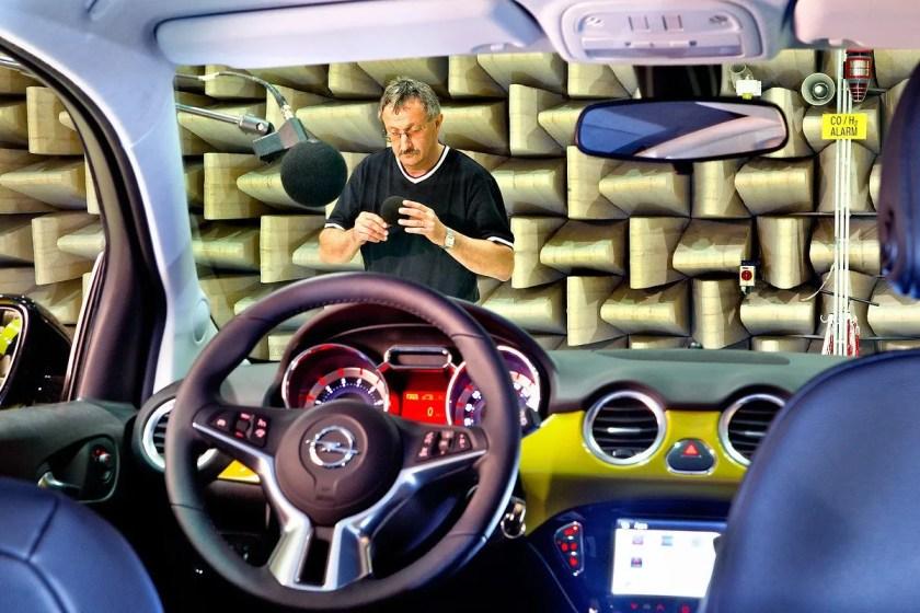 The interior of the Opel Adam Rocks