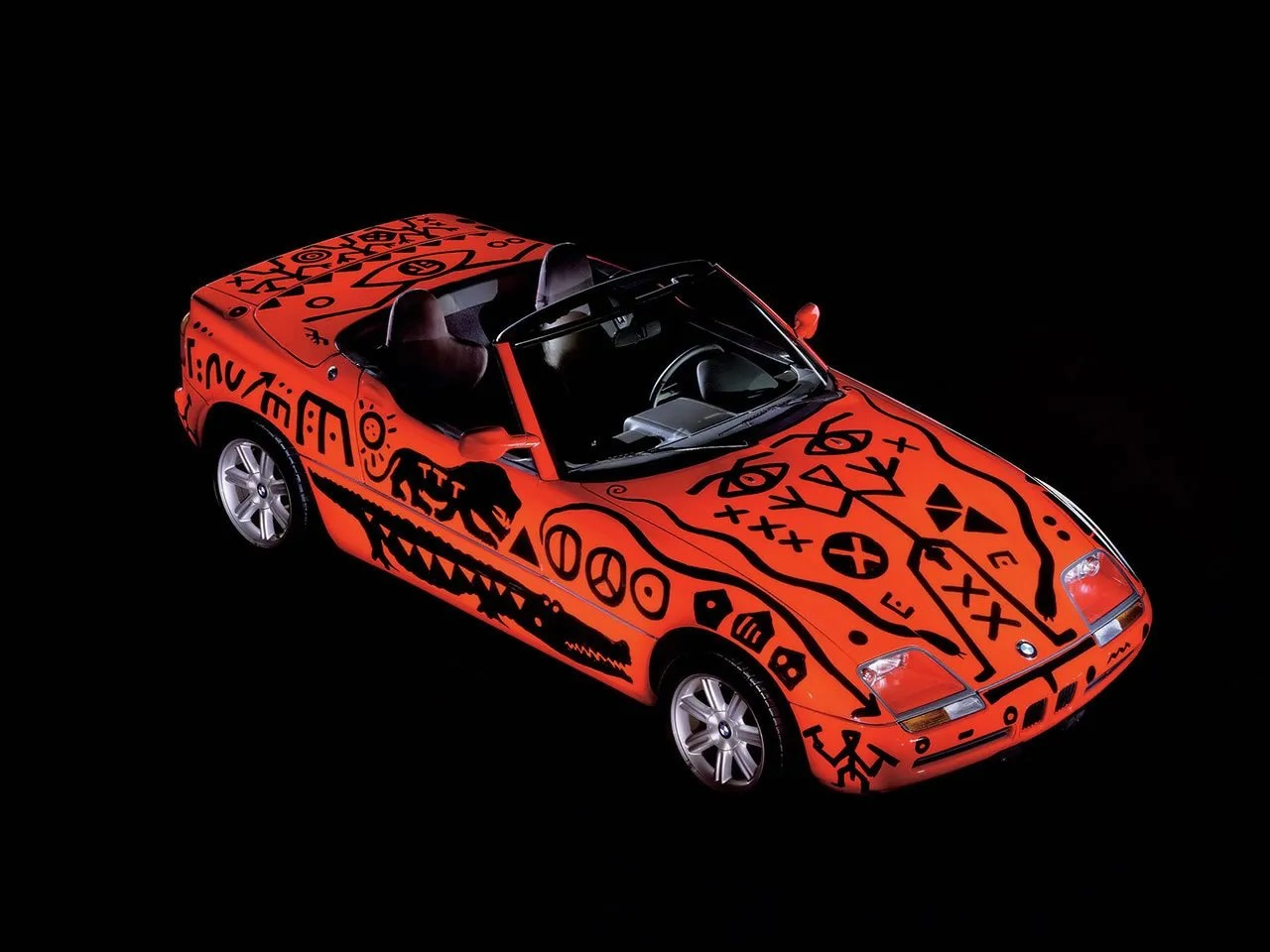 A R Penck BMW Art Car