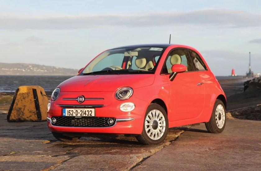 The 2015 Fiat 500 has been updated