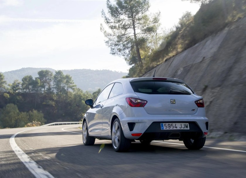 The Ibiza Cupra is a cheap and cheerful hot hatchback