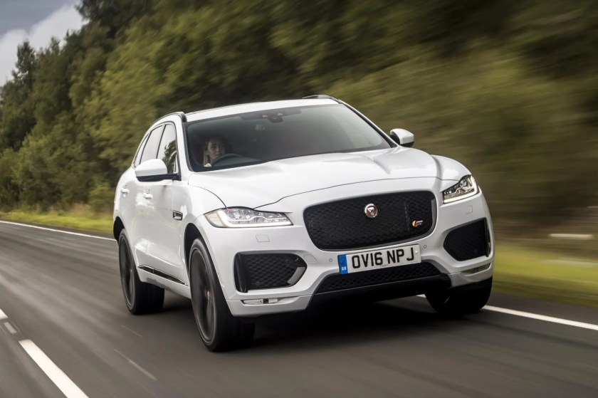 The 2016 Jaguar F-Pace