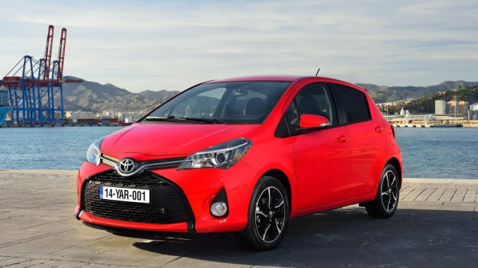 toyota yaris new car sales ireland
