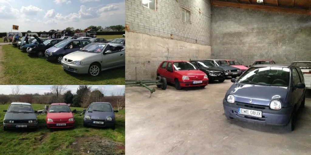 A Garage Full Of Renaults, The Story Of Two Irish Collectors