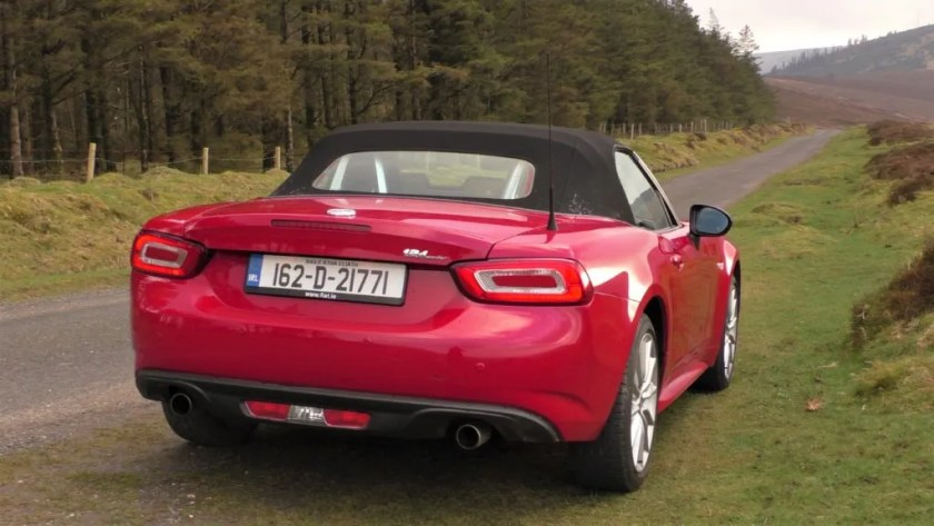 Fiat 124 Spider review ireland