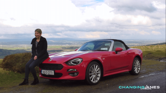 Fiat 124 Spider Ireland Review Caroline Kidd