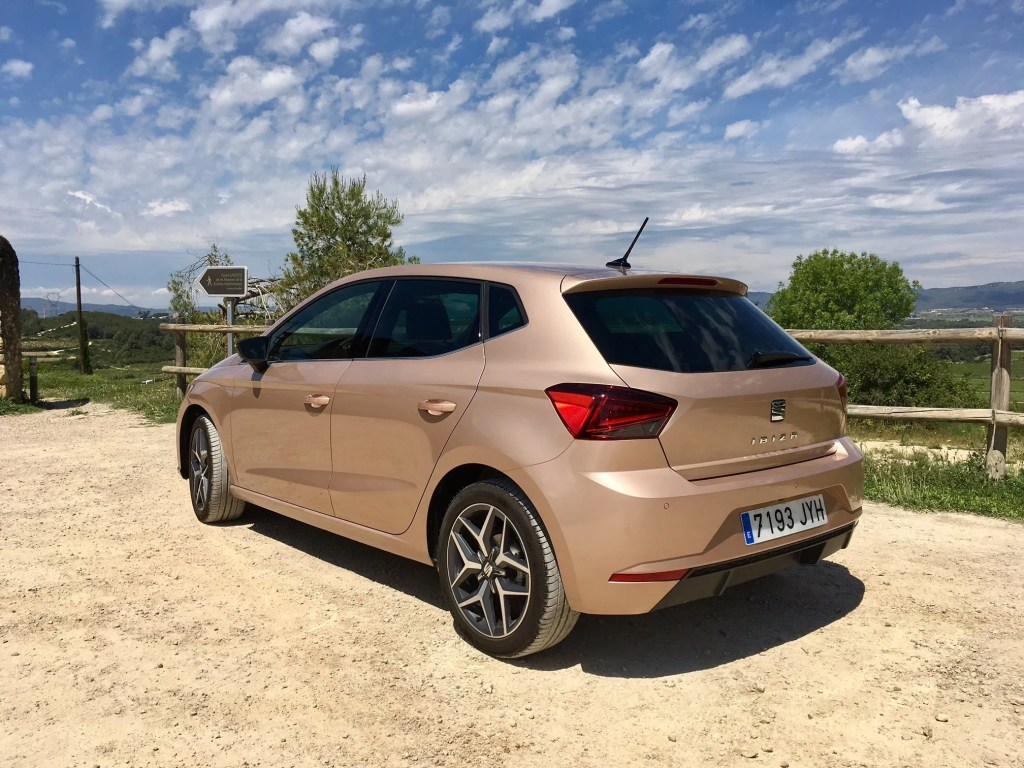 seat ibiza first drive review. Black Bedroom Furniture Sets. Home Design Ideas