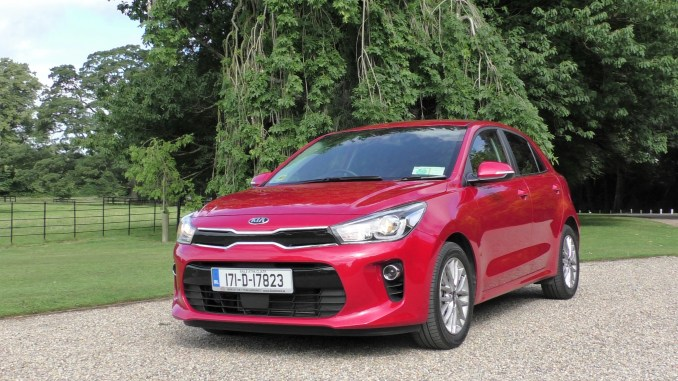 2017 Kia Rio review Ireland