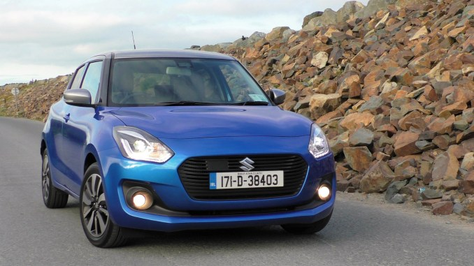 2017 Suzuki Swift review ireland