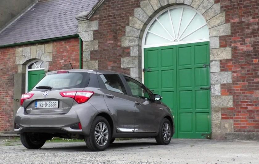 2017 Toyota Yaris review ireland