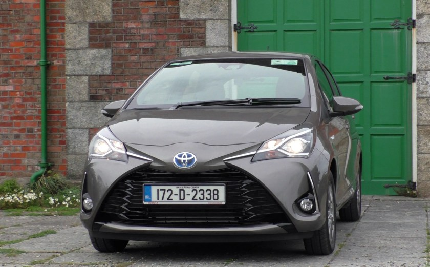 The popular Toyota Yaris is also available as a hybrid
