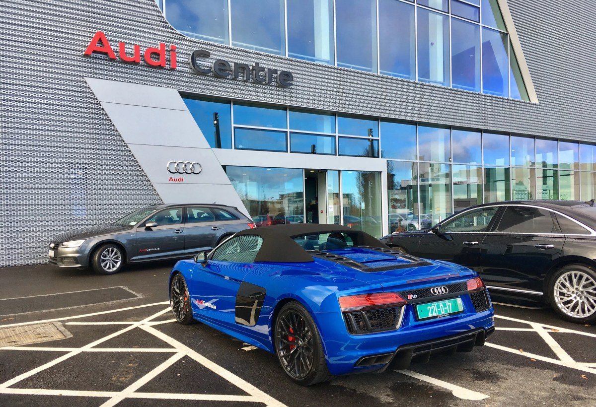 New Audi Centre Opens In Sandyford