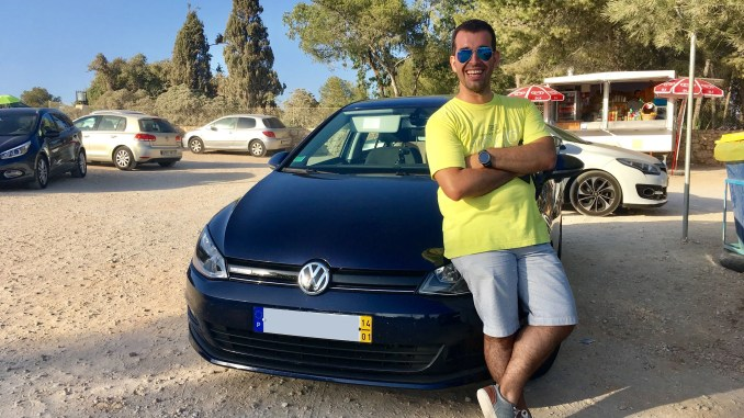 Me And My Car Nuno Bandeiras S Volkswagen Golf Changing Lanes