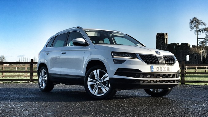 Skoda Karoq review ireland