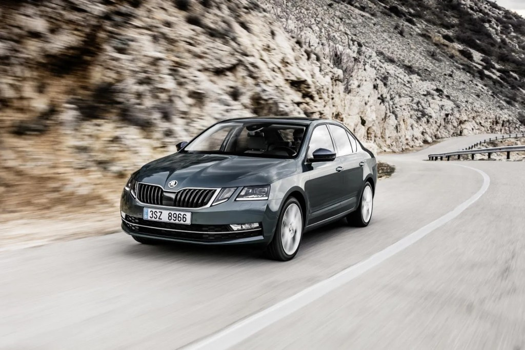 The Skoda Octavia petrol hatchback