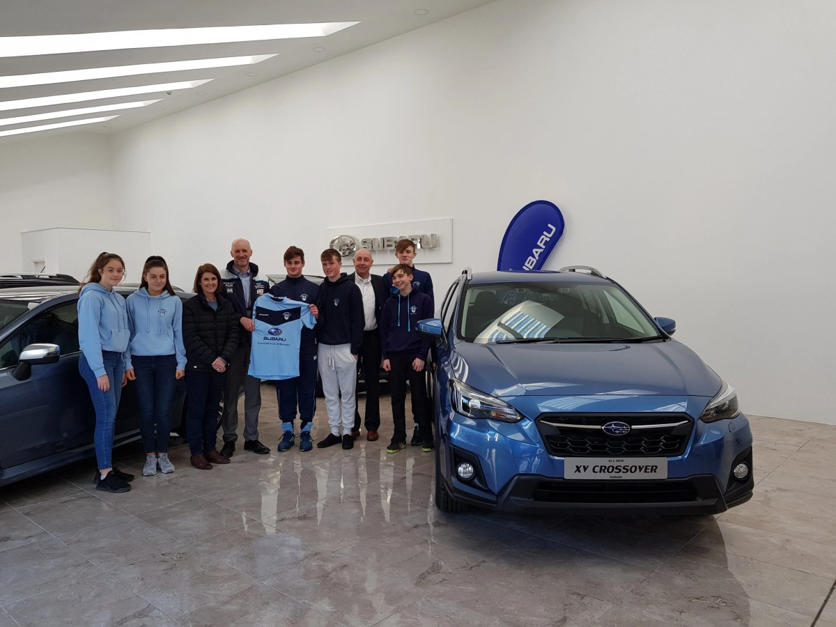 Subaru And Castle Garage Bray Sponsor Monkstown Hockey Club