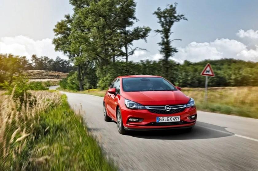 Opel Astra petrol hatchback