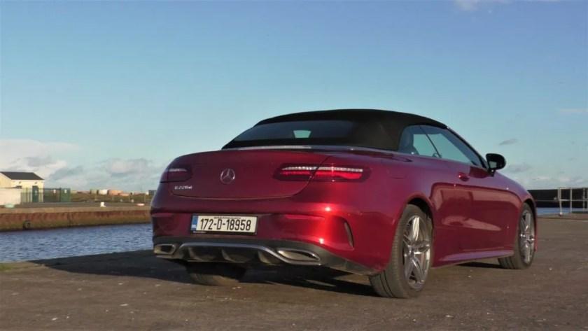 Mercedes-Benz E-Class Cabrio review ireland