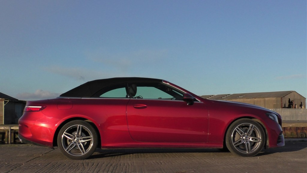 Mercedes-Benz E-Class Cabrio review ireland
