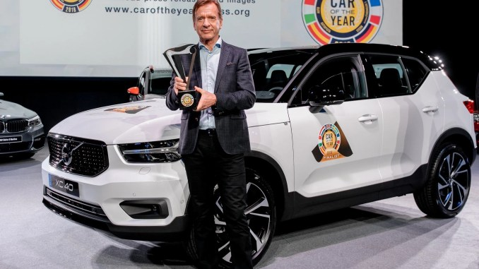 Volvo XC40, 2018 European Car of the Year