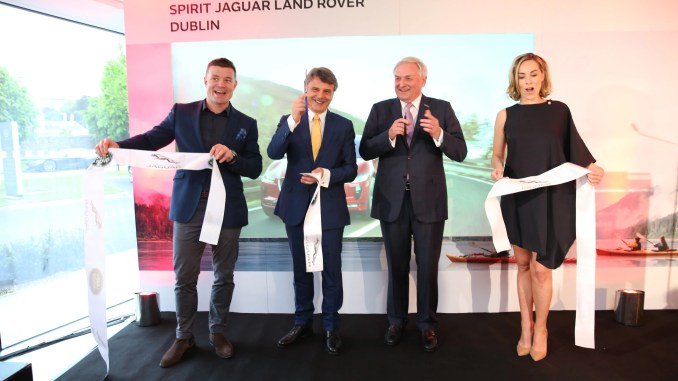 Spirit Jaguar Land Rover Opening New Showroom