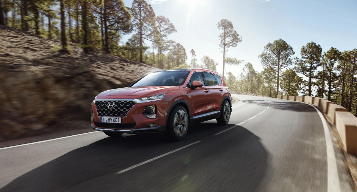 New Hyundai Santa Fe Launched In Ireland