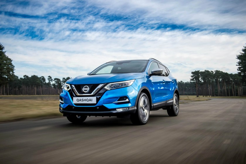 The Nissan Qashqai is still a popular buy on the new and used car market