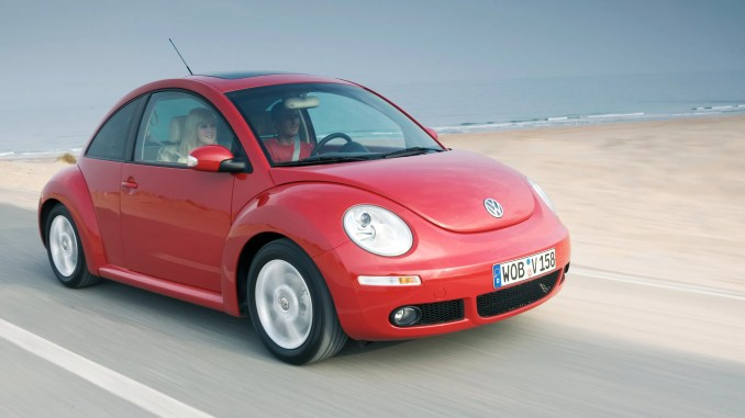 The Volkswagen New Beetle