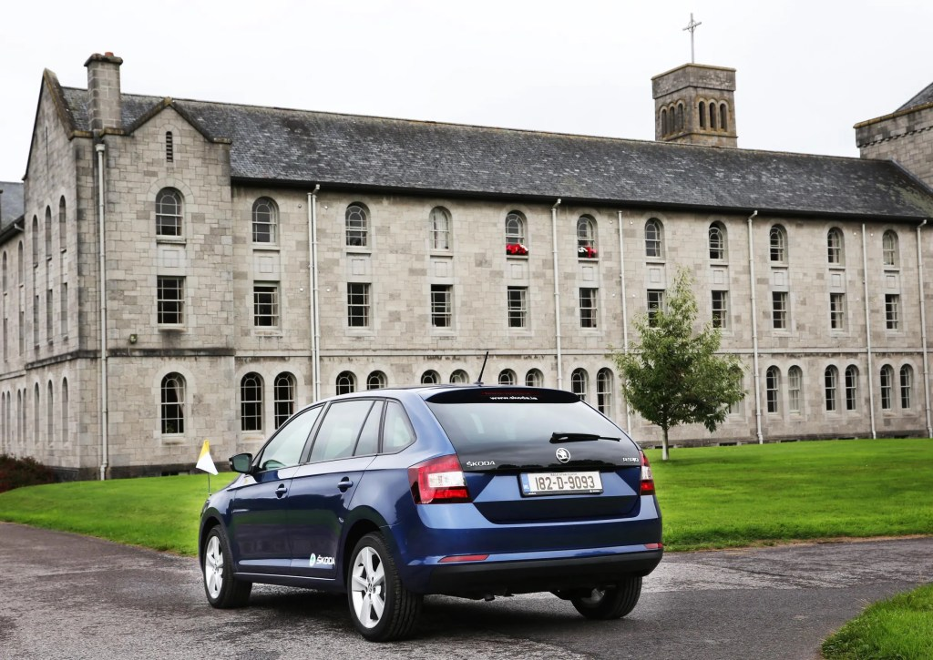 modified ŠKODA RAPID will transport Pope Francis during his visit to Ireland