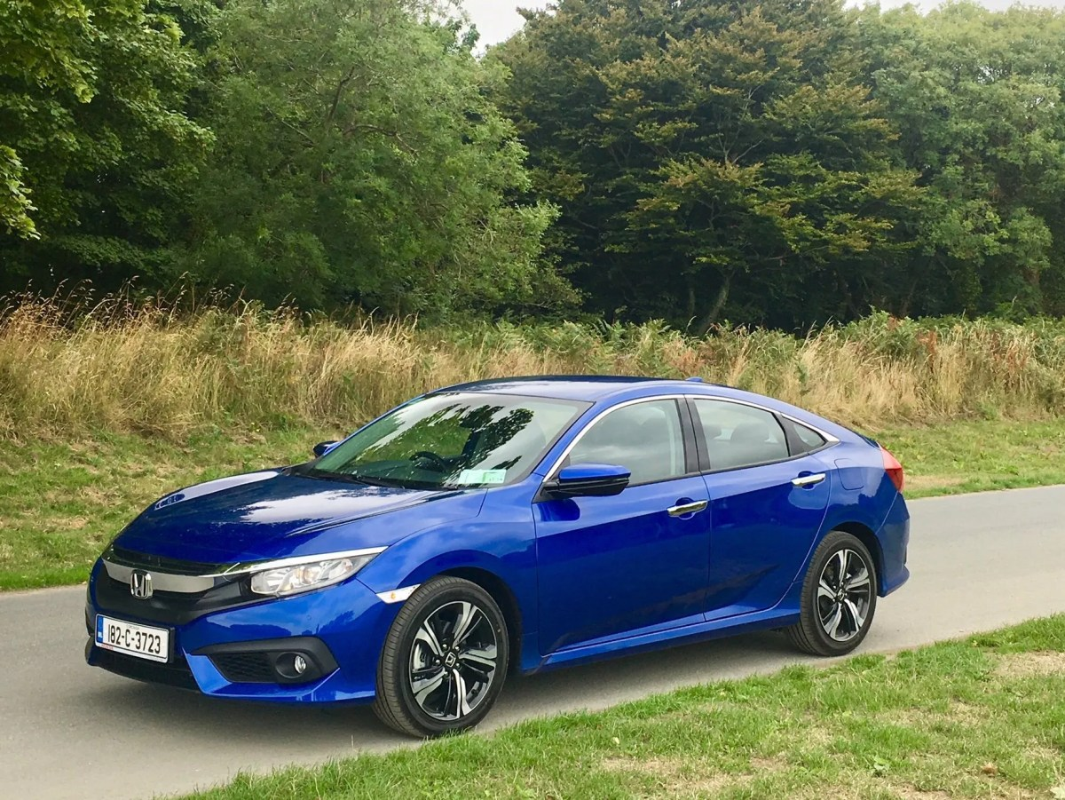 2018 Honda Civic Saloon Arrives In Ireland