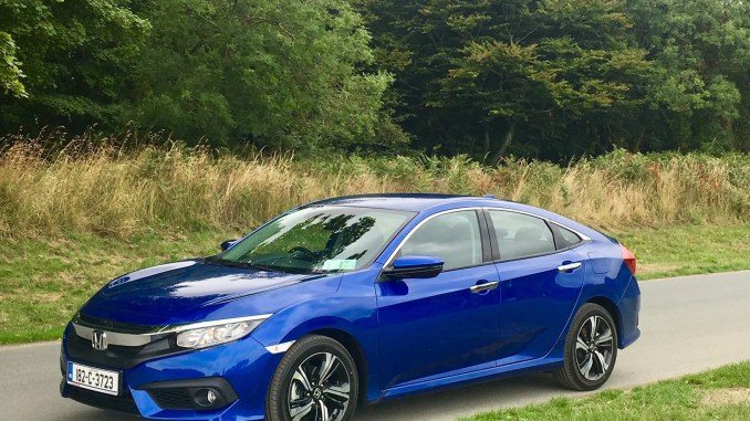 The new Honda Civic Saloon