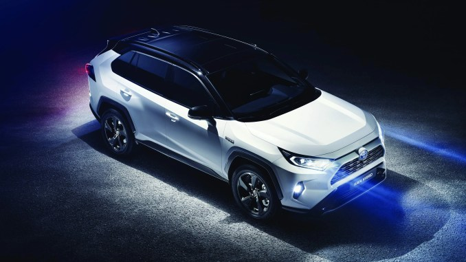 The new Toyota RAV4 Hybrid