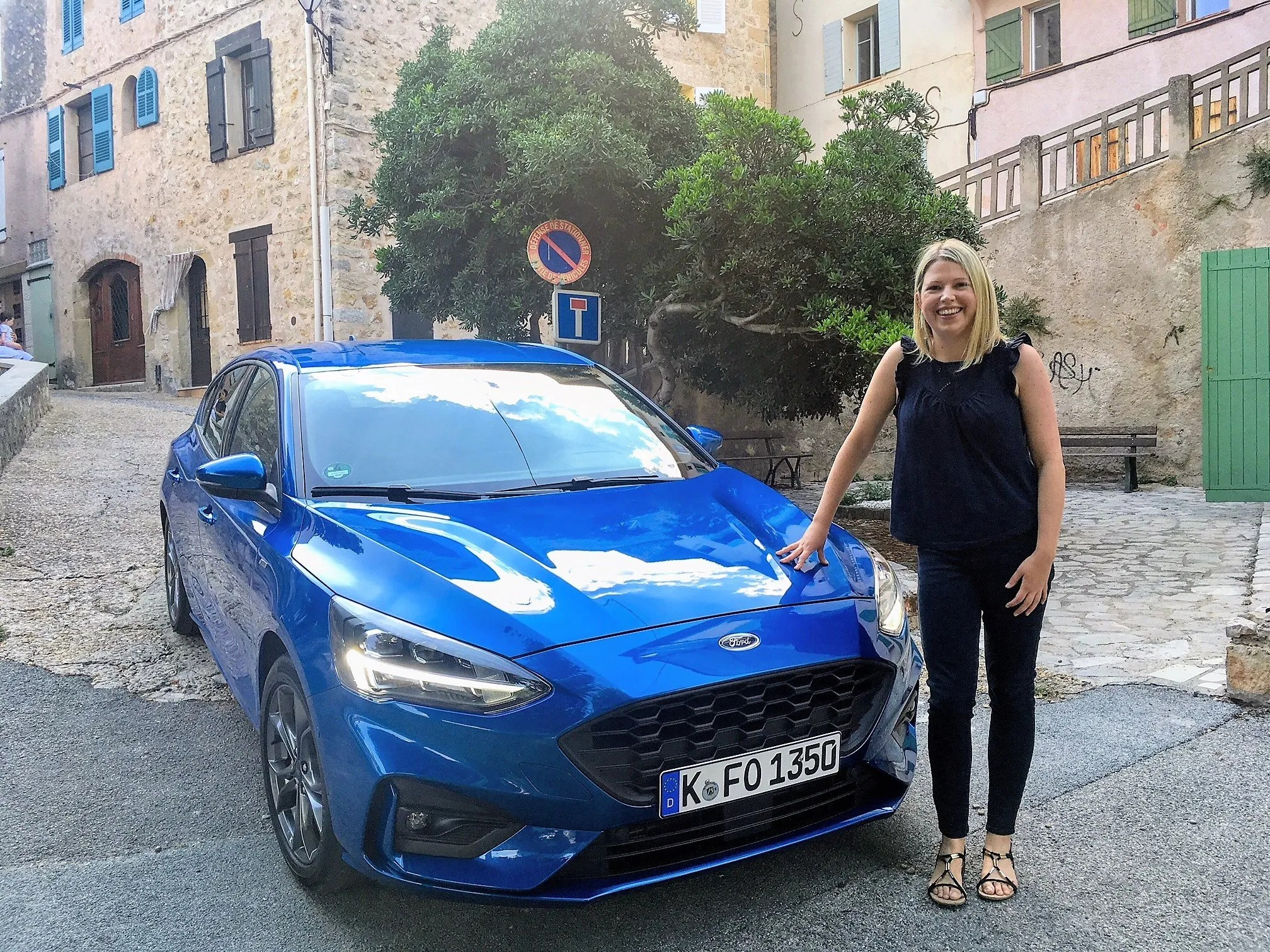 Caroline and the Ford Focus