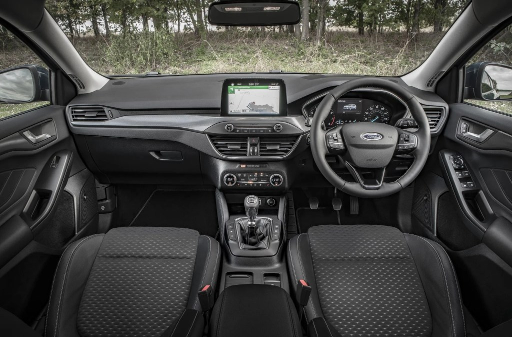 The interior of the new Ford Focus