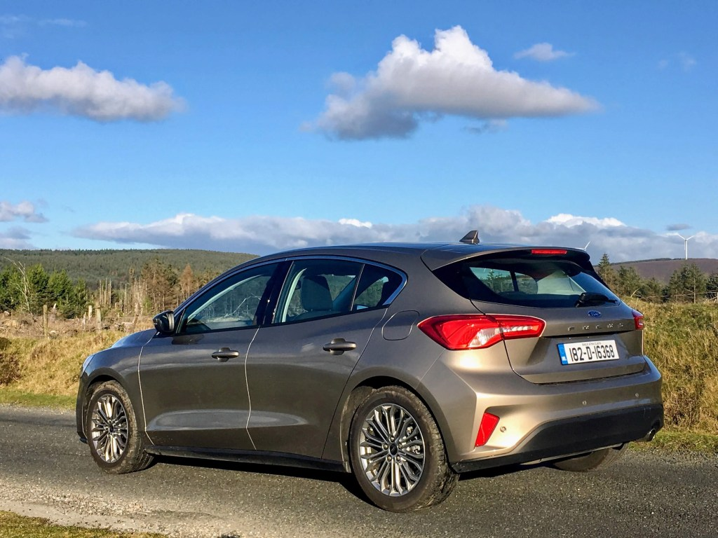 The Ford Focus goes on sale in Ireland priced from €22,495