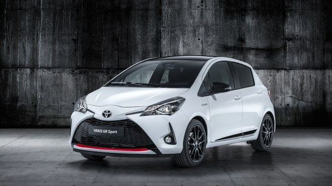 The new Toyota Yaris GR SPORT