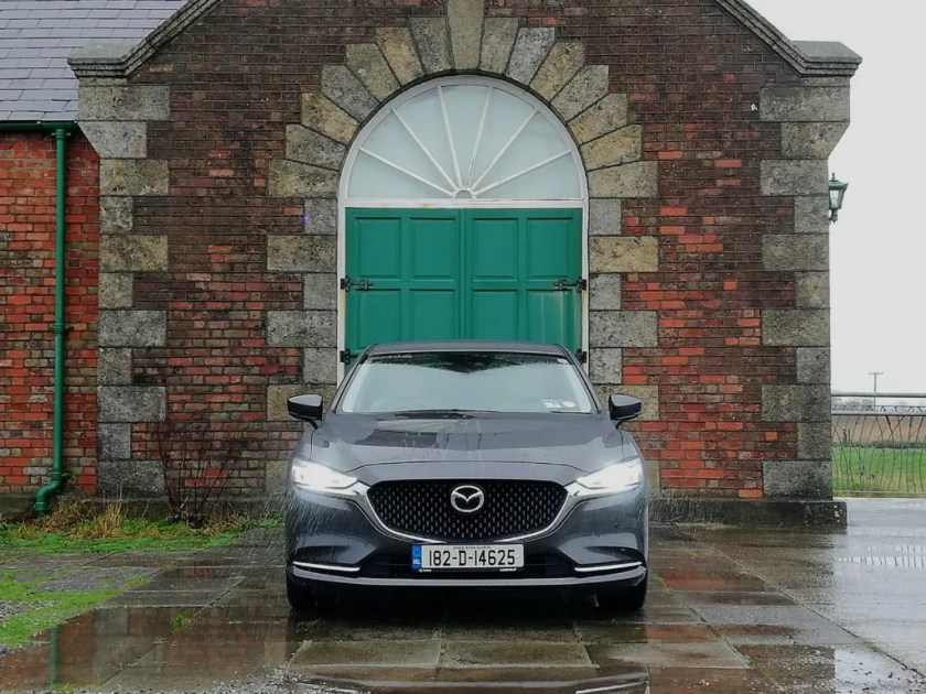 The Mazda6 goes on sale in Ireland priced from €31,945