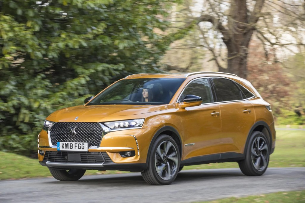 The new DS 7 Crossback has just arrived in Ireland