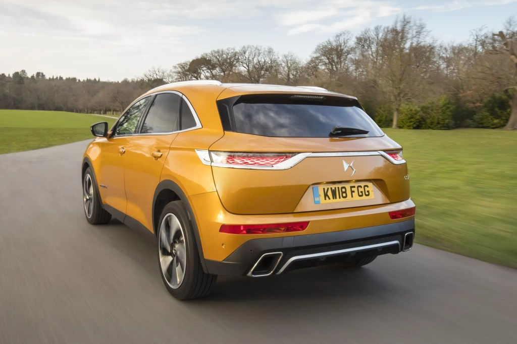 The new DS 7 Crossback goes on sale priced from €36,000