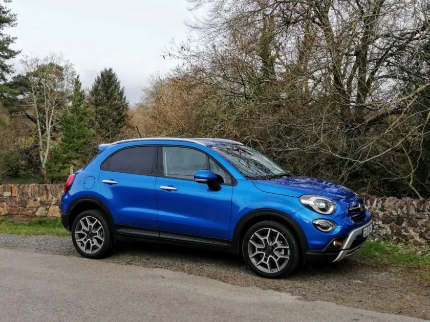 The Fiat 500X is a cheerful and colourful character for the compact crossover segment