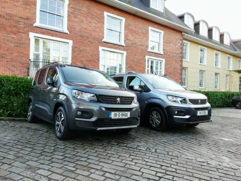 The new Peugeot Rifter is available from €23,540