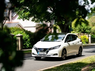 The Nissan LEAF is a strong seller in the growing electric vehicle segment
