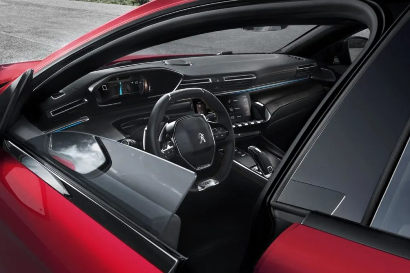 The interior of the new Peugeot 508